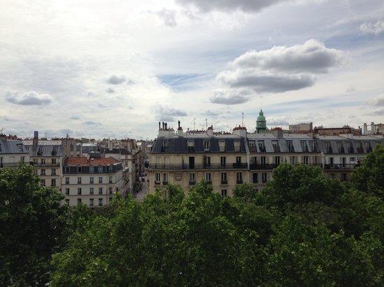 Appartement d'hotes Folie Mericourt : Вид с балкона