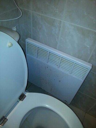 La Picholine: radiateur tout rouillé
