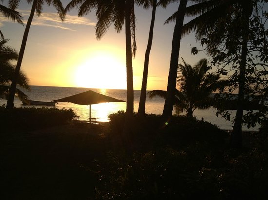 Nukubati Private Island : The view from our bure