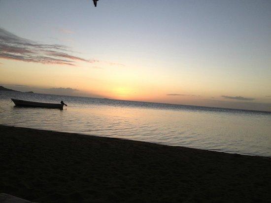 Nukubati Private Island : The beautiful secluded beach