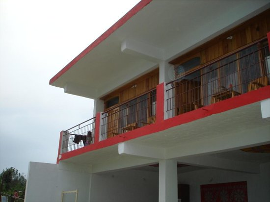 Blossom Hotel and Resort: front side rooms