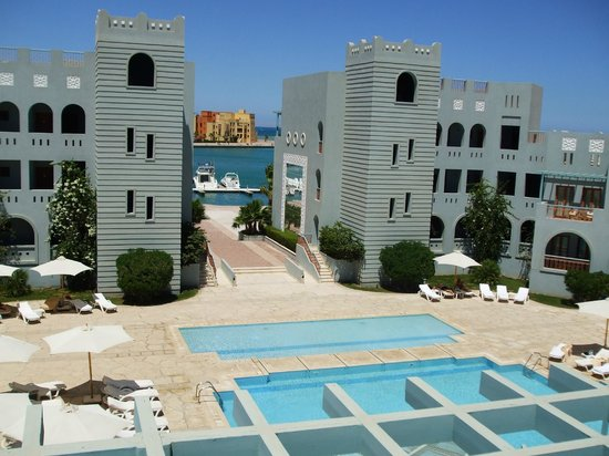 Fanadir Hotel: Property and Marina view