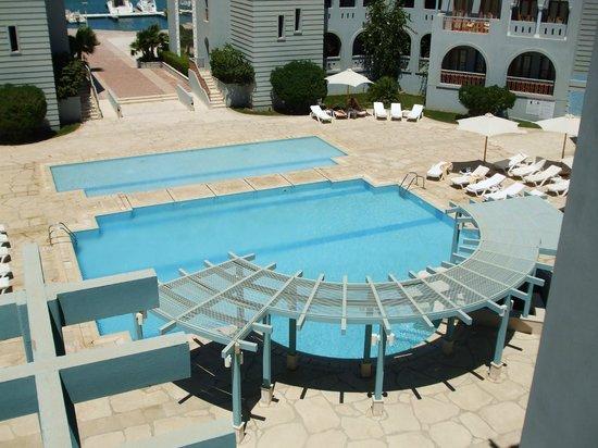 Fanadir Hotel: Pool view