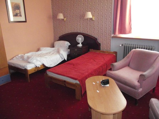 BlueBells Apartments: Main room which had 3 single beds
