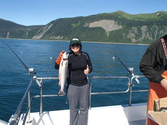 ProFish-n-Sea Charters: Silver Salmon