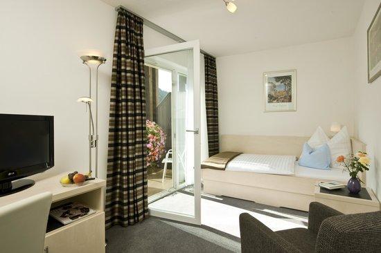Haus Maria: Einzelzimmer mit Südbalkon