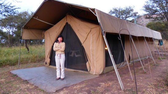 Dunia Camp, Asilia Africa: tent entrance