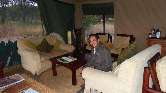 Dunia Camp, Asilia Africa: main lounge