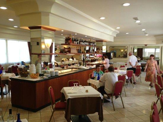 Hotel Sole : La sala ristorante