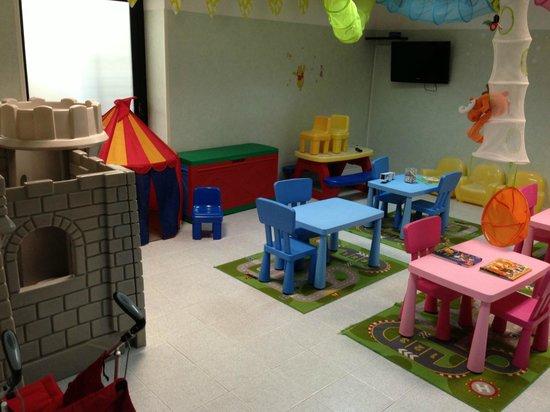 Hotel Sole : La sala per i bimbi più piccoli