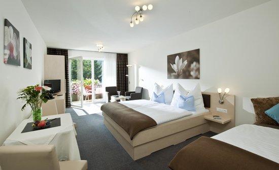 House Maria: Dreibettzimmer mit Südbalkon