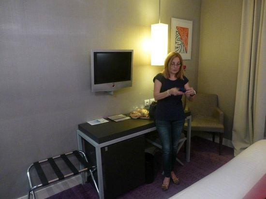 Le Marceau Bastille Hotel: Habitación