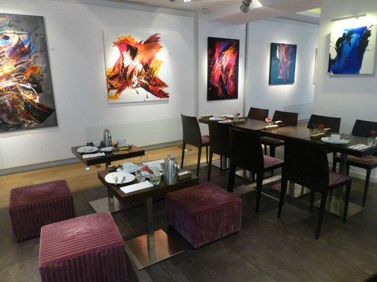 Le Marceau Bastille Hotel: Zona desayuno
