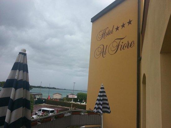 Hotel Al Fiore: esterno dal terrazzo della stanza