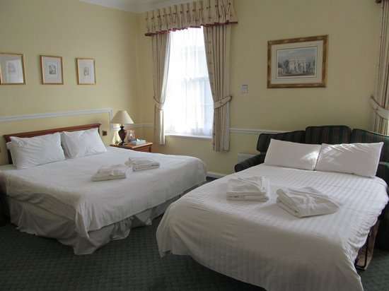 Tregenna Castle Resort: camera famoliare