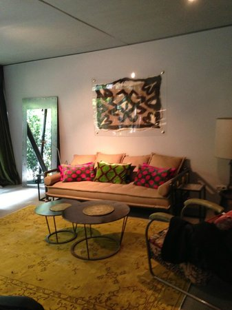 Istanbullux Suites: lounge