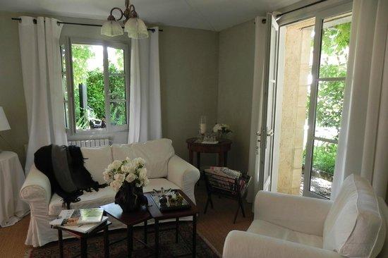 Maison de Marquay: Rincón sala de estar