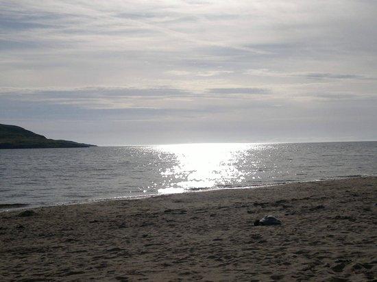 Sands Caravan & Camping Park: Sunset on the beach