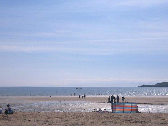 Sands Caravan & Camping Park: Tides out!
