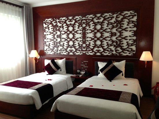 Essence Hanoi Hotel & Spa: Clean fresh room.