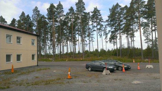 Good Morning Arlanda: Room 130, overlooking long stay carpark