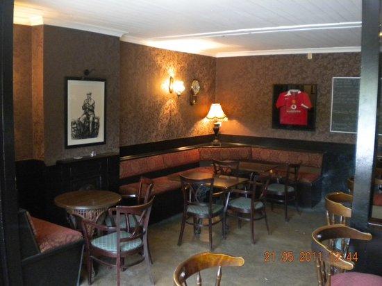 The Hollow Bar: bar area