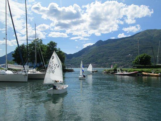 La Casa del Poeta: Sailing school in Dervio