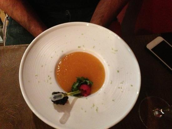 Le Quartier Gourmet : melon en soupe