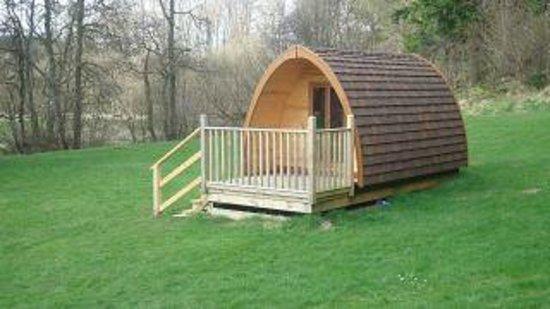 Kielder Caravan & Camping Site: Pod