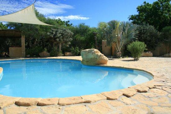 Arboretum d'Antsokay : The beautiful swimming pool!