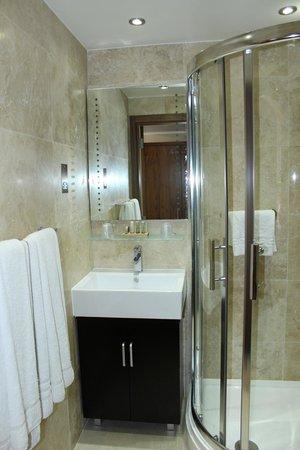 BEST WESTERN Palm Hotel : Salle de bain