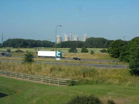 Hilton East Midlands Airport: view from the room