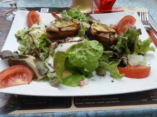 Patio de la Mer: Salade Cévenole