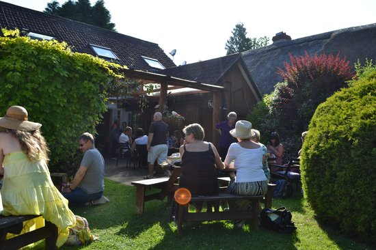 Tuckers Arms: Beer garden at Dalwood Music festival