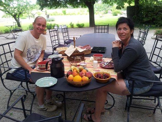 La Villa Noria : Frokost