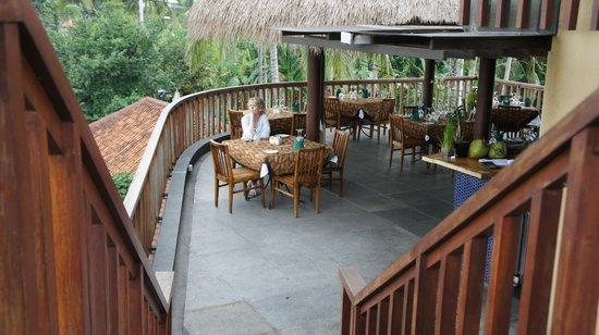 Ubud Green: Dining area