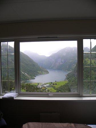 Hotell Utsikten: Vista dalla camera