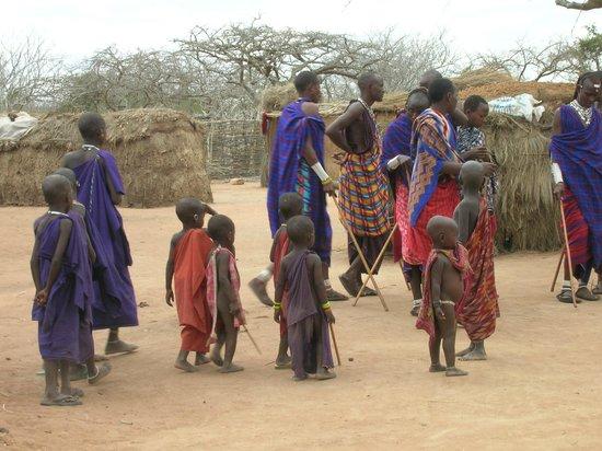 Sandies Coconut Village : Tra i masai