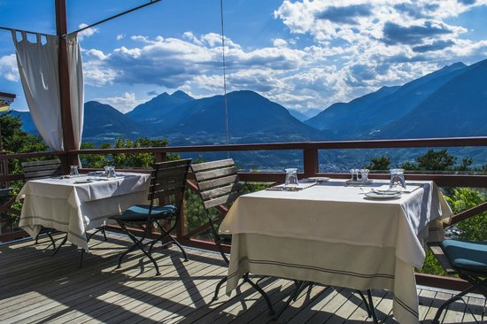 Relais & Chateaux Hotel Castel Fragsburg: Terrazza panoramica