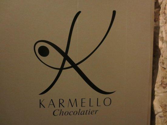 Karmello Chocolatier : sign