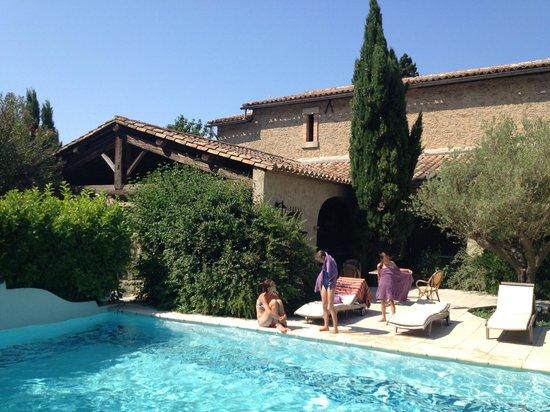 Chateau de Cavanac: Poolbar