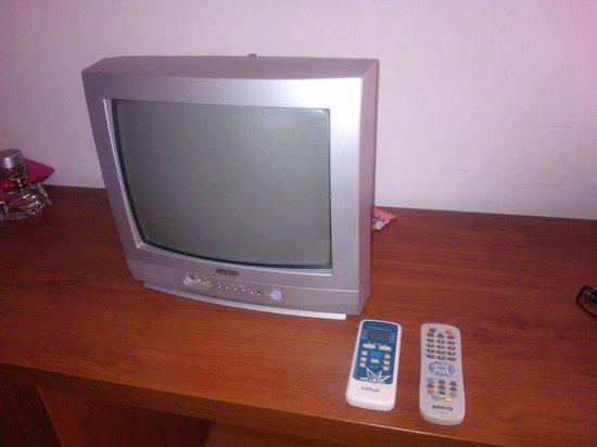 Hotel Mayna: la tele y los mandos