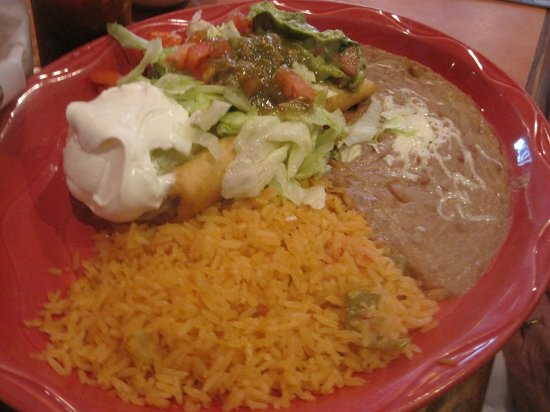 Mexicali Grill: Baja Chimichanga with pork