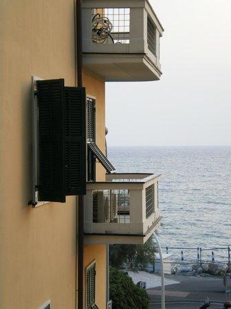 Hotel Giardino al Mare : Il mare dalla camera