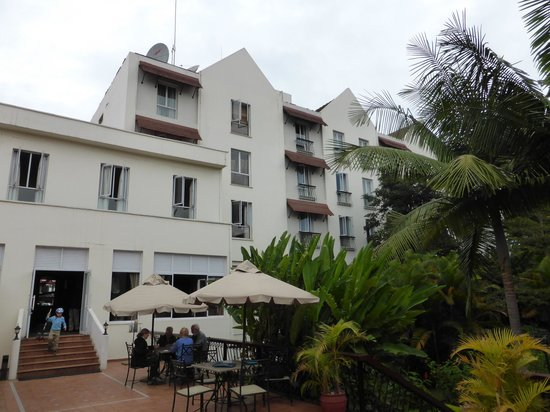 The Arusha Hotel : Vista exterior