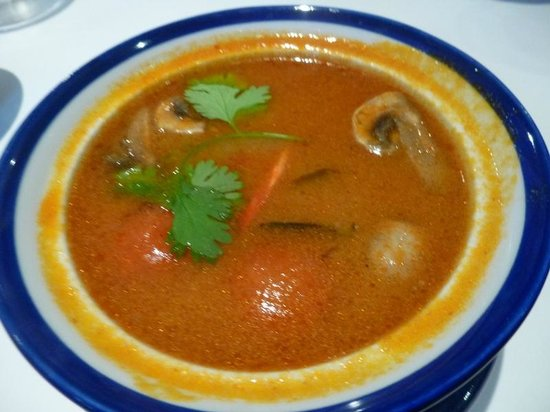 D-Dee Thai Restaurant: Tom Yum Soup with Prawns