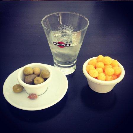 Les Capitelles : Martini als Apertif