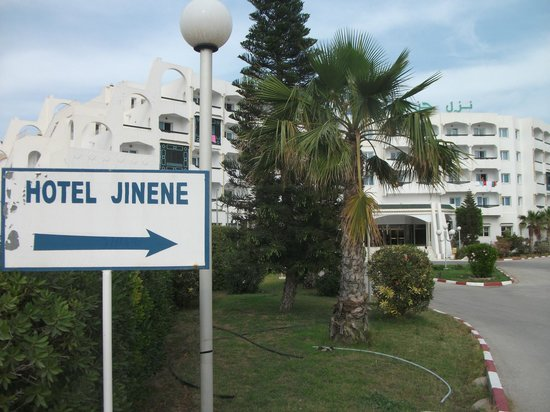 Jinene & Royal Jinene Hotels: the hotel