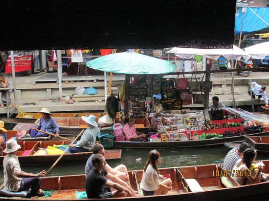 Sight Seeing Bangkok: Floating Market
