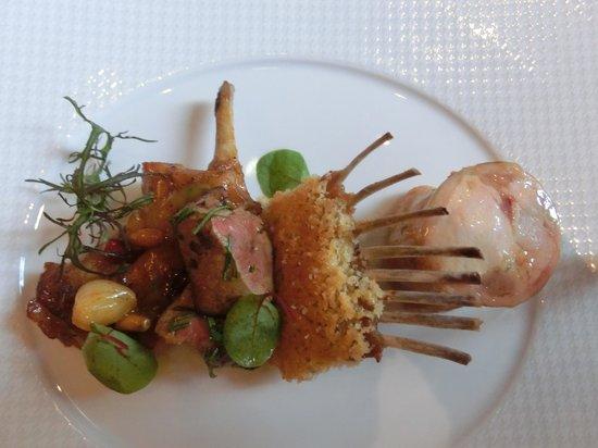Le Cinq : お肉